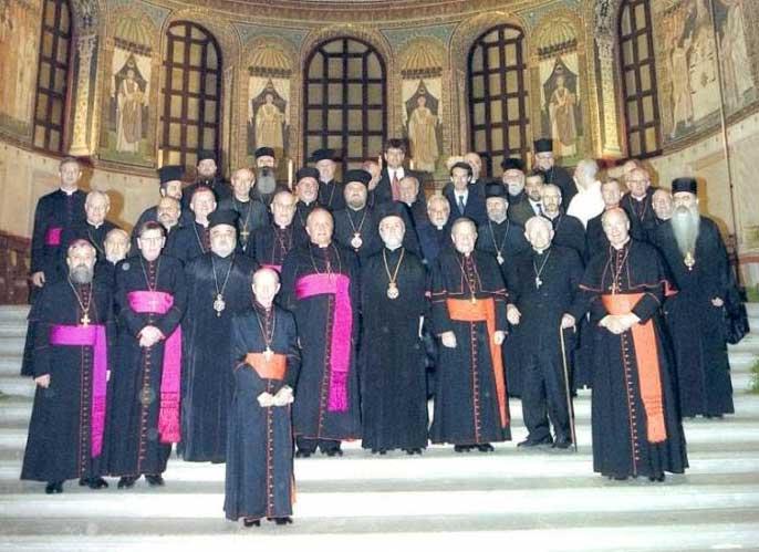 Равена 2007 - паписти потписали примат папе