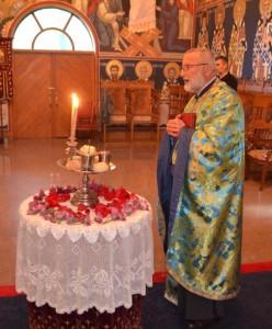 Tomic na bdeniju uoci Manastirskog Sabora 2015