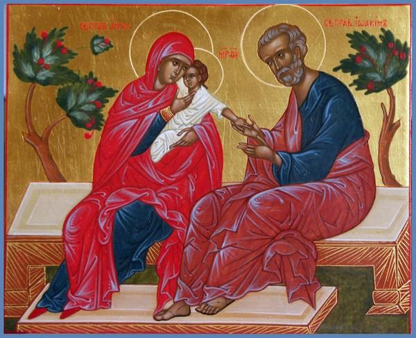 Богородитељи и Богородица