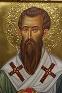 Свети Василије Велики лик