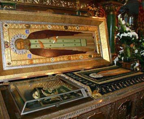 Свети Серафим Саровски - мошти