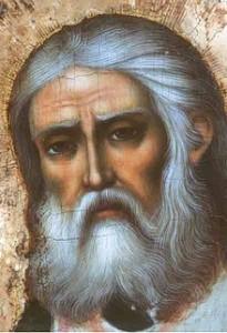Свети Серафим лик