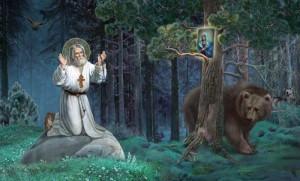 Свети Серафим 1000 дана